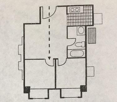 大门冲向房门该怎么办?