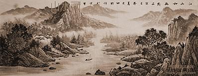 什么招财风水画挂在大客厅有利风水学?