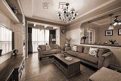 大客厅不适合放置的装饰物有什么?