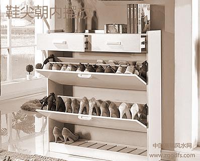 鞋柜风水的设定