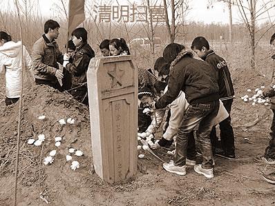 清明时节拜祖的风水学注重,清明上坟的老规矩