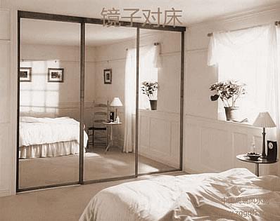 镜子对着床好么:室内风水床与镜子
