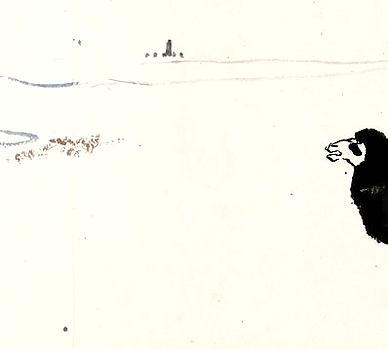 【梅伯言、马湘帆、汤海秋、王少鹤四农部,何子贞编修,陈颂南、苏赓堂、朱伯韩三侍御,叠次召余同亨甫为觞宴之乐。九月二十六日,复集蒹葭阁;盖丙申年入都,伯言、湘帆置酒处也。诸君各以诗文见赠,余行有日,辄成七律数章酬别其五】原文-清.姚莹