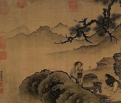 【三月三日会贤堂禊集分韵得心字】原文-近代.汪荣宝